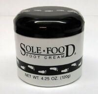 NEW Sole Food Foot Cream 4.25 Oz. FREE SHIPPING