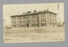 pk43498:Real Photo Postcard-New High School Building,Tomahawk,Wisconsin