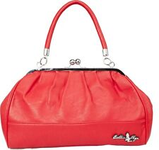 78060 Red Teasearama Bowler Purse Bettie Page Sourpuss Retro Fifties 1950s 50s