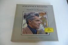 BRAHMS KARAJAN FERRAS BOX 7LP GERMANY DGG SKL 133/139. STEREO. LIMITED PRESS.