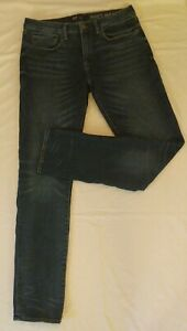 Gap Mens Size 34x36 Tall Skinny Soft Wear Stretch Jeans Worn Medium Tint