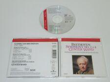 BEETHOVEN/SINFONIE NR. 2 + 4/GÜNTER WAND(BMG  RD 60058) CD ALBUM
