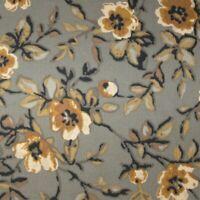 Longaberger Khaki Floral COASTER TOTE / TARRAGON / Basket Liner ~ Brand New!