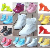New Women High fashion Candy color cute sweet Hip-hop sport shoes boots Sneakers