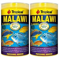 2 x Tropical Malawi Flocken Flakes 1000 ml Flocken Barschfutter (11,75 €/1L)