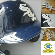 Custom made 3D Baseball Helmet Decal, Softball Tball, 9 pcs/Set. Team Logo decal