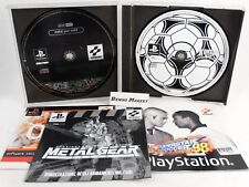 ISS PRO 98 INTERNATIONAL SUPERSTAR SOCCER DEMO METAL GEAR SOLID PS1 PAL ITALIANO