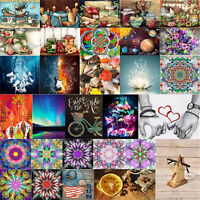5D DIY Full Round Diamond Painting Kitchen Supplies Embroidery Cross Stitch Arts