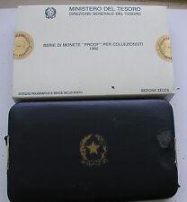 """REPUBBLICA ITALIANA ISTITUTO POLIGRAFICO ZECCA SERIE PROOF """"FRANCESCA"""" 1992  #2#"""