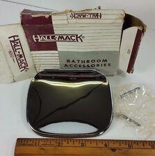 Vintage Bathroom Hall-Mack Chrome Soap Holder Wall Mount Quality Mid Century