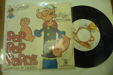 "RICKY GIANCO(BRACCIO DI FERRO)""POP POP POPEYE-disco 45 giri INDINGO It 1975"""