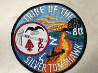OA Lodge 80 Silver Tomahawk Jacket Patch