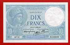 (Ref: R.836) 10 FRANCS MINERVE 9/01/1941 (NEUF) DATE RARE