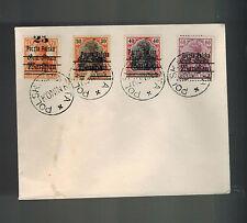 1919 Konin Poland Cover Warsaw GG Overprints