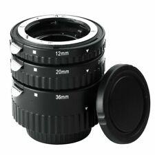 Meike Auto Focus Macro Extension Tube Set Ring N-AF1-B for Nikon D7100 D800