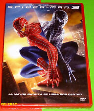 SPIDERMAN 3 / SPIDER-MAN 3 - English Español Portugués DVD R2 Precintada