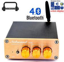 Nobsound Bluetooth 4.0 Digital Amplifier TPA3116 2.1CH BASS HiFi amp with Power