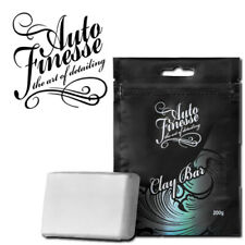 AUTO FINESSE CLAY BAR 200G BLOCK DETAILING SHOW CAR VAN CLEANER + STORAGE CASE