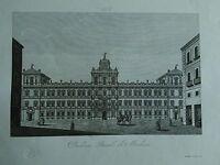 1845 Zuccagni-Orlandini Veduta del Palazzo Ducale di Modena