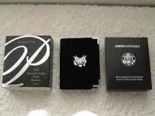 1997-W $25 PROOF PLATINUM STATUE OF LIBERTY 1/4 Oz. AMERICAN EAGLE BOX & COA !