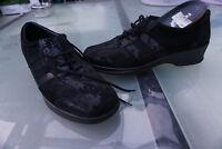 ROHDE Damen Comfort Schuhe Schnürschuhe Gr.7 / 40,5 schwarz Leder TOP