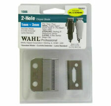 Wahl 785051 2 Hole Clipper Blade Set - Silver