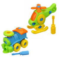 Baby Early Learning Airplane Disassembly Assembly Puzzle Educational Toys Gift