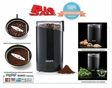 Krups Electric Control Stainless Steel Blades Espresso Coffee and Spice Grinder