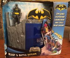 Batman Power Attack Blast & Battle Batcave...Mattel #W7220
