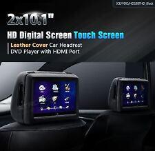 COPPIA MONITOR POGGIATESTA UNIVERSALI XTRONS 10 POLLICI TOUCH HD USB SD DVD HDMI