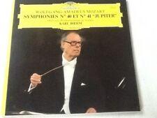 """Mozart Symphonies N° 40 et N° 41 """" Jupiter"""" Karl Boehm philarmonique de Vienne"""