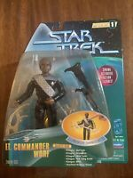 """Star Trek Lt. Commander Worf 5"""" Warp Factor Series 1 Figure 1997"""