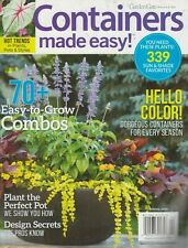 Garden Gate Magazine Containers Made Easy! Spring 2019