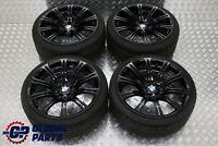 "BMW E90 E92 M3 Black Complete Set 4x Wheel with Tyres 19"" M Double Spoke 220"