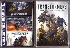 Transformers 1, 2, 3 & 4 - DVD Movie Film Collection BRAND NEW