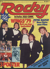 Rocky Nr.32 vom 2.8.1979 Wings, Rolling Stones, Dschingis Khan, the Sweet, BJH