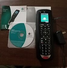 Logitech Harmony One Touch Screen Color Remote With Charging Base CD Booklet