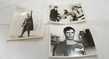 (3) Superman B&W 8 by 10 Photos (Pre-Owned)