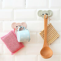 Holder Wall Shelf Rack Hook Home Storage Organizer Bathroom Kitchen AccessorieJB
