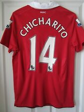 Nike 10-11 Chicharito Manchester United Player Issue Football Soccer Jersey M