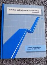Statistics for Business and Economics Third Edition (Hardcover, 1987)