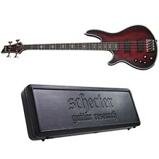 Schecter Hellraiser Extreme-4 Lh Crimson Red Burst Satin Left-Handed Bass + Case