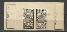 103-SELLOS CLASICOS DE ULTRAMAR  1894-95.REVENUE COLONIA 5CT