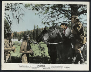 The Indian Fighter '55 WALTER MATTHAU LON CHANEY JR INDIANS WESTERN COLOURED