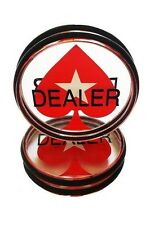 Poker Dealer Button Pokerstars Großer Dealerbutton Pokerzubehör XXL Button Acryl