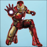 Large Iron Man Avengers Wall Sticker Mural Art 7 sizes to choose XXL-1.73m Decal