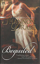 Beguiled Shannon Drake HQN Historical Romance good condition paperback