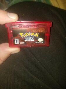 Pokemon Ruby Gameboy Advanced