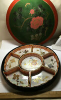 Antique Serving Dish Set Lustreware In Original Box Noritake Japan