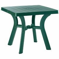 """Compamia Viva 31"""" Resin Square Patio Dining Table in Green"""
